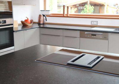 Kücheninsel mit Muldenabzug