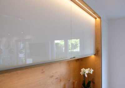 LED-Beleuchtung bündig eingelassen in Oberfläche